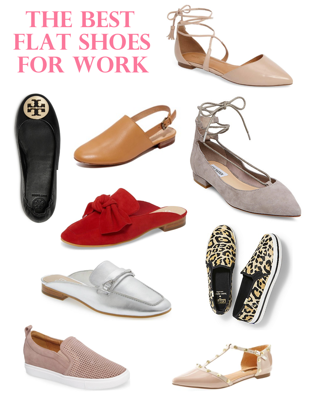 THE BEST FLAT SHOES FOR WORK - THE BEST THING