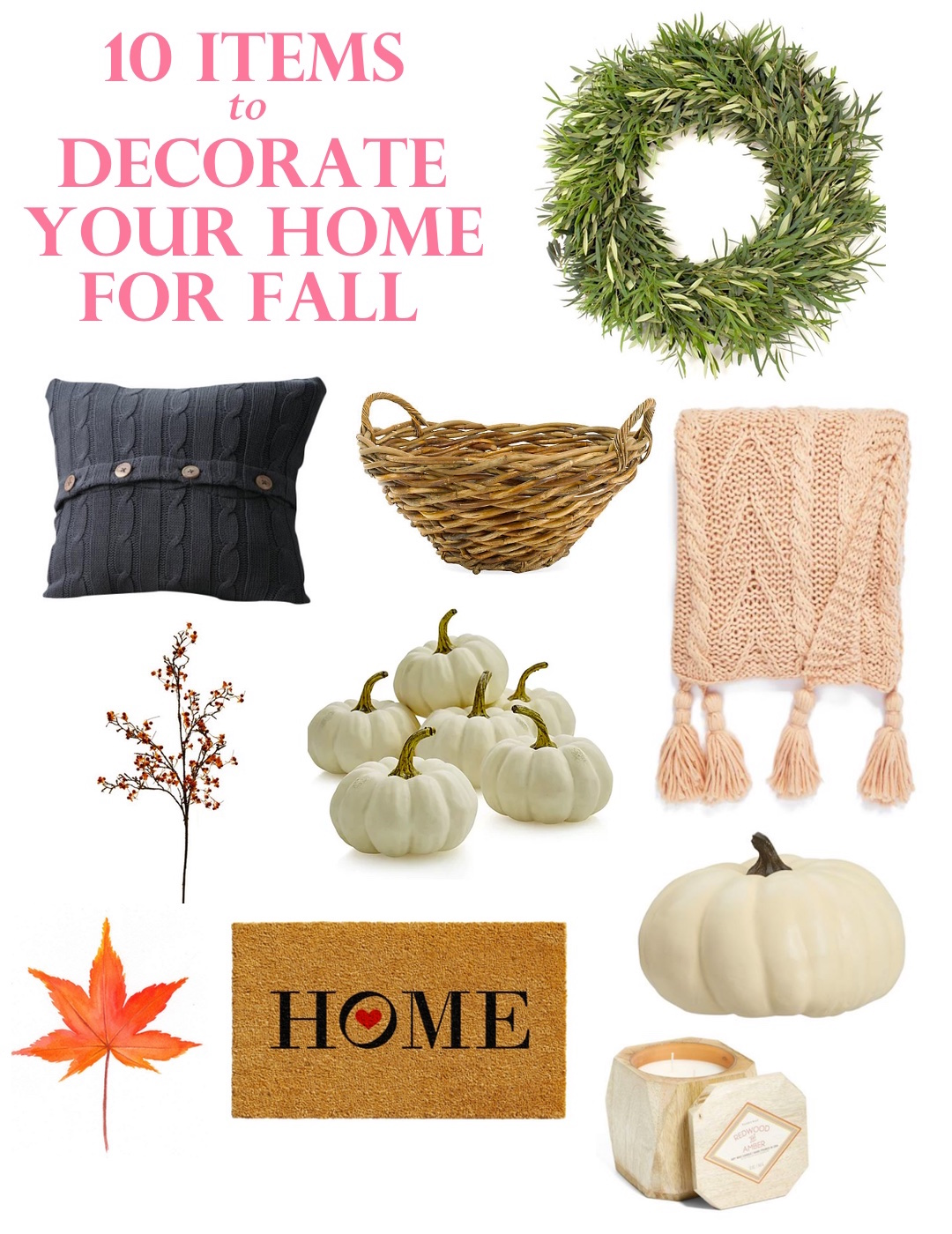 Fall home decor inspiration