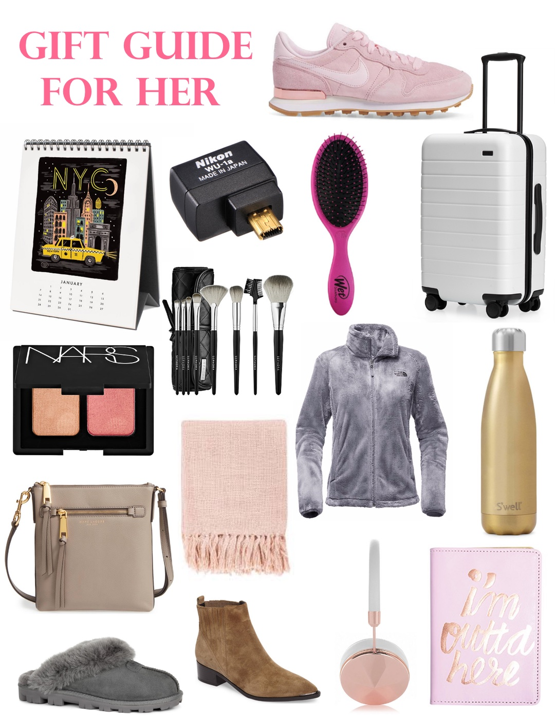 Christmas Gift List for Her